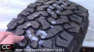 Winter Tire Review: BFGoodrich All-Terrain T/A KO2, Simply The Best ... Proline Bfgoodrich Allterrain Ta Ko2 22 Crawler Truck Tire Bf Goodrich Ko2 All Terrain Sale Tires Rims New Bridgestone Dueler At Revo 3 Lt31575r16 127r Allseason China Whosale Best Tire13r225 Tubeless Tyre For Winter Review Simply The Best Create Your Own Stickers Tire Stickers Destroyer 26 2 Clod Buster Front Download Images Of Tuff Aftermarket Wheels Cversion Igloo 60qt Or Similar Coolers Coopers Discover Xt4 Debuts Canada Business The
