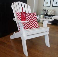 deluxe outer banks poly wood folding adirondack chair with cup