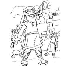 Jericho Jonah Minor Prophets In The Bible Stories Coloring Page