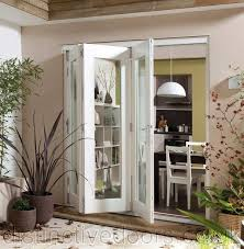 Jen Weld Patio Doors by Jeld Wen Wellington Pine White Pre Finished Exterior Bifold Doors