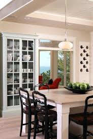 Built In China Cabinet Dining Room Wine Contemporary With Cabinets