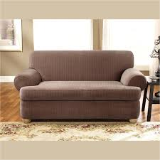 Sure Fit Sofa Covers Australia by White Loose Fit Sofa Slipcover Sure Covers Amazon Furniture