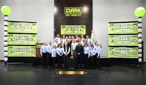 CLARK Honors Top Forklift Dealers With Dealer Of Excellence And ... Clark C45 National Lift Truck Inc Clark Hyundai Forklift Dealer Pittsburgh Material Handling Company History Traing Aid Videos Wikipedia Europe Gmbh Cushion Gcs 25s 5000lb Forklift Lift Truck Purchasing Souring Spec Sheets Gtx 16_electric Forklift Trucks Year Of Mnftr 2018 Pre Owned Used 4000 Propane Fork 500h40g