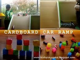 Cardboard Car Ramp