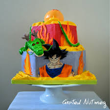 Dragon Ball Z Decorations by Dragon Ball Z Cake U2013 Grated Nutmeg