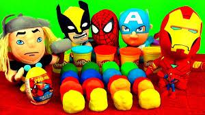 cars pate a modeler 20 eggs play doh superheroes cars batman angry