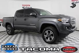 100 Santa Fe Truck Certified PreOwned 2017 Toyota Tacoma TRD Sport In