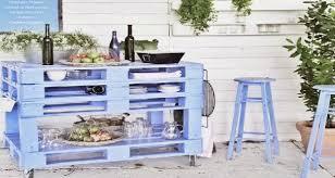 meuble cuisine palette faire meuble cuisine été en palette