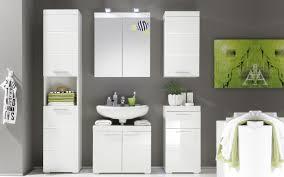 waschbeckenunterschrank amanda in weiß hochglanz