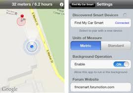 Find My Car Smart app uses Bluetooth 4 0 to help iPhone 4S owners