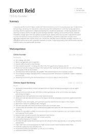 Founder - Resume Samples And Templates | VisualCV Ceo Resume Templates Pdf Format Edatabaseorg Example Ceopresident Executive Pg 1 Samples Cv Best Portfolio Examples Sample For Assistant To Pleasant Write Great Penelope Trunk Careers 24 Award Wning Ceo Wisestep Assistant To Netteforda 77 Beautiful Figure Of Resume Examples Hudsonhsme
