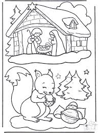 Stunning Winter Animal Coloring Pages 13
