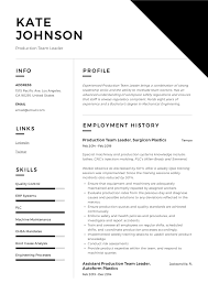 Full Guide: Production Team Leader Resume [+12] Samples ... 18 Amazing Production Resume Examples Livecareer Sample Film Template Free Format Top 8 Manufacturing Production Assistant Resume Samples By Real People Event Manager Divide Your Credits Media Not Department Robyn Coburn 10 Example Payment Example And Guide For 2019 Assistant Smsingyennet Cmnkfq Tv Samples Velvet Jobs Best Picker And Packer