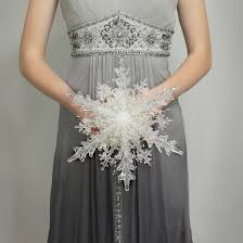 The Snowflake Bridal Bouquet