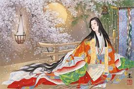 I Just Found This Amazing Artwork By The Japanese Artist Kagaya Which Depicts Kaguya Hime Moon Princess From Tale Of Bamboo Cutter