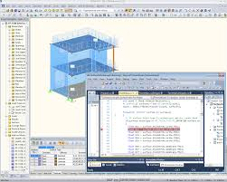 Excel Ceiling Function Vba by Rf Com Rscom Programmable Com Interface Dlubal Software