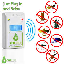 Ultrasonic Pest Repeller – 5 Pack + 1 FREE . Non-Chemical Sound Waves.  Child & Pet Safe. Plug In Eco-Friendly Pests Control + Night Light For  Rodents, ...