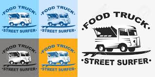 100 Truck Emblems Food And Logo With Surf Board Street Surfer Food