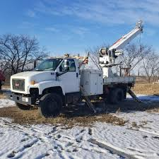 100 Derrick Trucks GMC C7500 W Altec DM47TR Digger Truck 212 Equipment