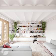 40 Contemporary Scandinavian White Apartment Design That