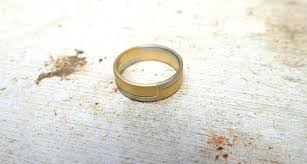solid gold band style ring mixed metal ring unisex recycled ring solid gold wedding band mixed metal jewelry yellow white gold