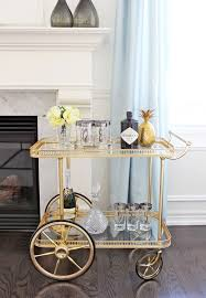designers best bar cart styling tips for every season