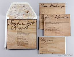 Real Card Studio Invitations On Wood Cards For A Rustic Wedding Wooden