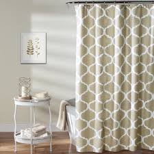 Geo Shower Panels by Geo Shower Curtain Lush Décor Www Lushdecor Com