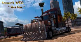"""Kenworth W900 """"Mad Max Truck - ATS Mod 