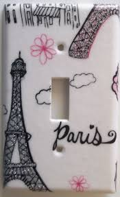 Paris Themed Bathroom Wall Decor by 459 Best Light Switch Plates Images On Pinterest Light Switch