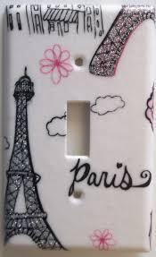 Paris Eiffel Tower Bathroom Decor by 457 Best Light Switch Plates Images On Pinterest Light Switch