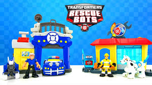 Play Skool Heroes Transformers Rescue Bots Unboxing Bumblebee Rescue ...