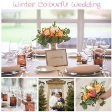 Winter Colourful Wedding