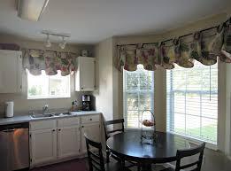 Kitchen Window Curtains Ideas Grey Metal Chrome Double Bowl Sink Curtain Designs Black Ceramic Countertops White Tile