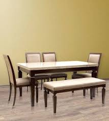 Marble Dining Table Set Bliss Top Six By Hometown Sale