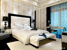 Table Lamp Shades For Master Bedroom Decorating Ideas With Luxury Gypsum Ceiling And Modern Furniture Design 2017 Also Extra High Leather Headboard