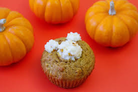Cake Mix And Pumpkin Muffin Recipe by Pumpkin Muffin Recipe With A Mickey Cream Cheese Twist Yoho Disney