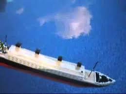 lego titanic model sinking the original from 2007 youtube