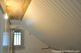 Hanging Drywall On Ceiling Or Walls First by Diy How To Install Beadboard On Walls And Ceilings House Updated