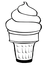 Fresh Ice Cream Coloring Pages Cool Colorings Book Design Ideas