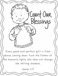 Thanksgiving Coloring Pages Scripture Children