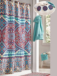 Brylane Home Bathroom Curtains by Shower Curtains Blair