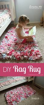 DIY Rag Rug Tutorial These Are Easy To Make And Add Awesome Texture A
