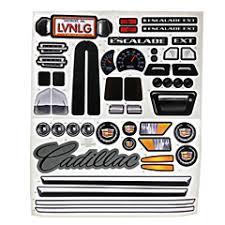 Power Wheels Cadillac Escalade Decal Sheet N8417 0311