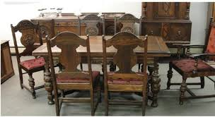 Dining Table Antique Room Furniture 1920