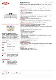 catalogue bureau center fiche technique frima variocooking center 112t frima catalogue
