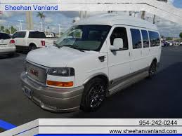 2012 GMC Savana 7 Pass Explorer LTD SE Luxury Conversion Van