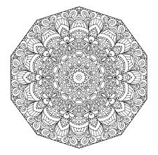 Mandala Coloring Pages Pdf Free Printable Floral Page The Open Mind Book