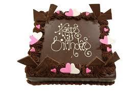 Square Chocolate Ganache Cakes