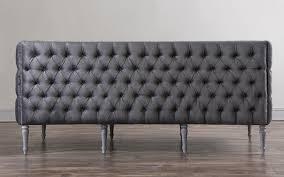 Ava Velvet Tufted Sleeper Sofa Uk by Furniture Margot 2 Seater Grey Velvet Sofa With Mid Century Legs